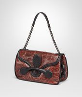 BURNT RED ELAPHE RIALTO BAG