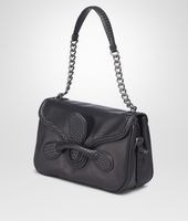 NERO  MICRO INTRECCIO NEW CALF  RIALTO BAG