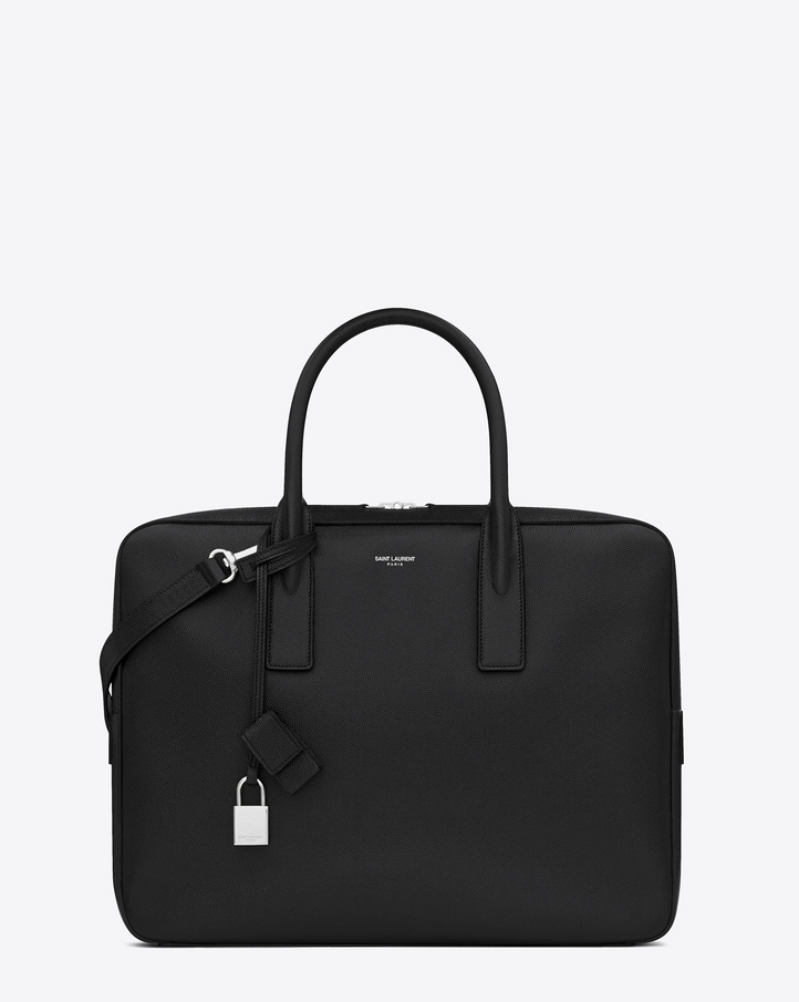 ysl leather travel bag