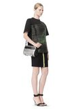 ALEXANDER WANG CHASTITY MINI SLING IN SILVER WITH RHODIUM Shoulder bag Adult 8_n_r