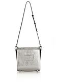 ALEXANDER WANG CHASTITY MESSENGER IN SILVER WITH RHODIUM Shoulder bag Adult 8_n_a
