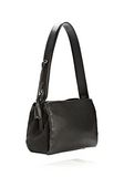 ALEXANDER WANG PELICAN SATCHEL IN BLACK WITH RHODIUM Shoulder bag Adult 8_n_e