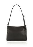 ALEXANDER WANG PELICAN SATCHEL IN BLACK WITH RHODIUM Shoulder bag Adult 8_n_f