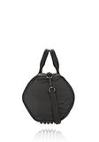 ALEXANDER WANG EXCLUSIVE ROCCO SATCHEL IN BLACK NYLON WITH RHODIUM Shoulder bag Adult 8_n_e