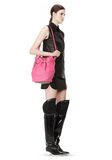 ALEXANDER WANG DIEGO IN SOFT PEBBLED FLAMINGO WITH PALE GOLD Shoulder bag Adult 8_n_r