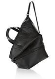 ALEXANDER WANG EXPLORER TOTE IN SHINY BLACK NYLON WITH MATTE BLACK Travel Adult 8_n_e