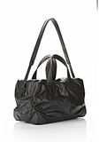 ALEXANDER WANG WALLIE DUFFLE IN WAXY BLACK WITH MATTE BLACK Travel Adult 8_n_e