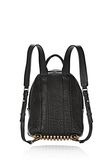 ALEXANDER WANG DUMBO BACKPACK IN PEBBLED BLACK WITH ANTIQUE BRASS BACKPACK Adult 8_n_d