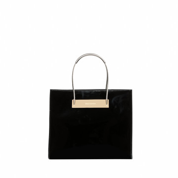 Balenciaga Cable Shopper S Patent Leather