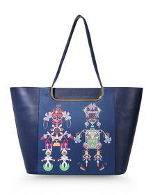 Large leather bag - MARY KATRANTZOU
