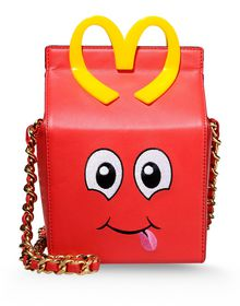 Small leather bag - MOSCHINO