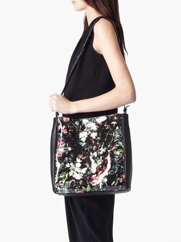 Floral Bucket Bag Festive Floral Bucket Bag
