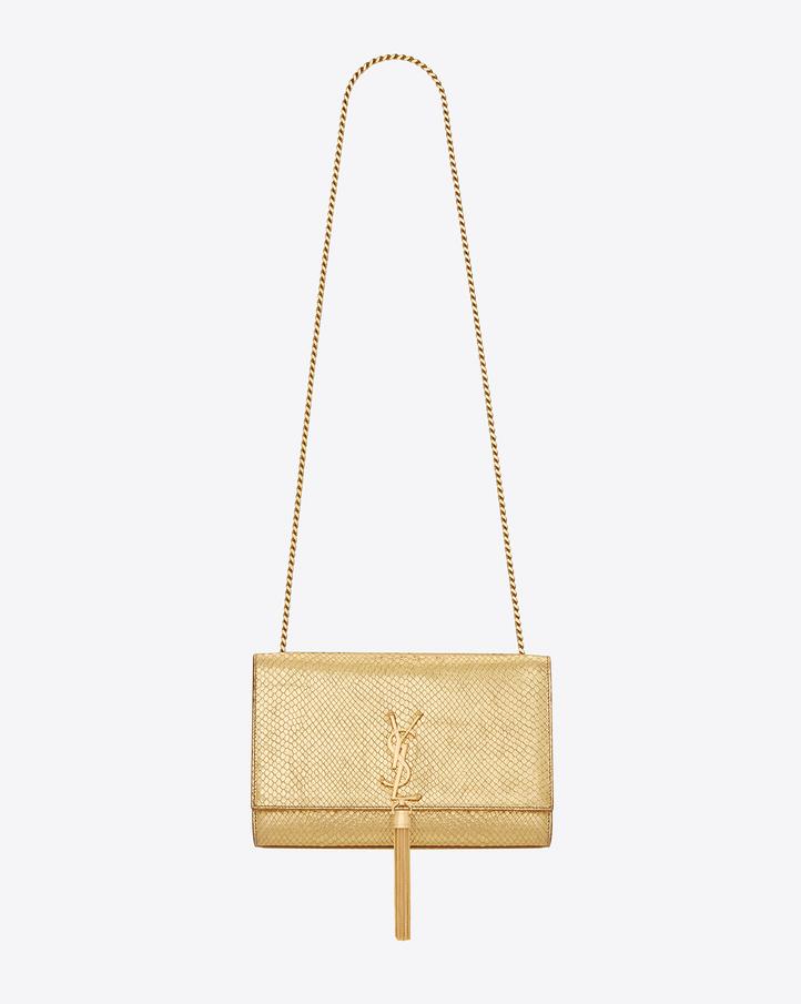 ysl gold bag