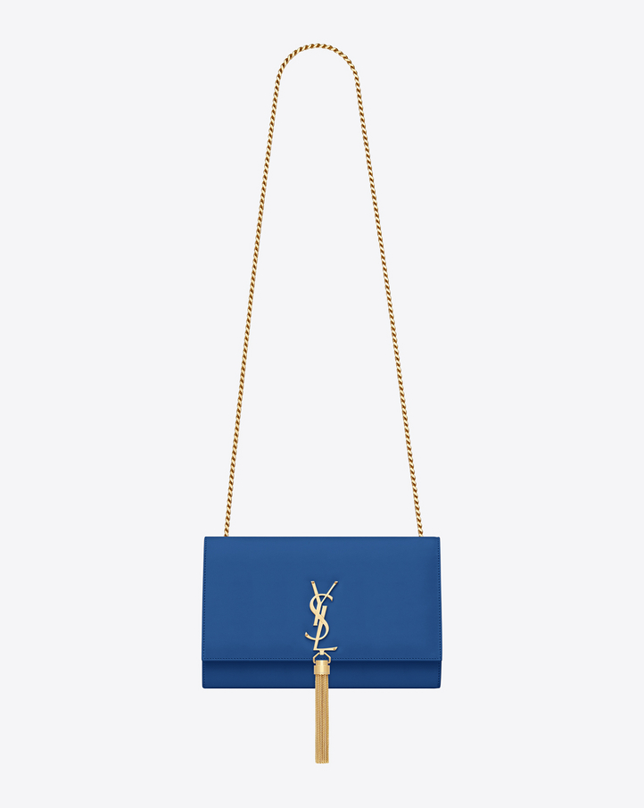 ysl royal blue bag