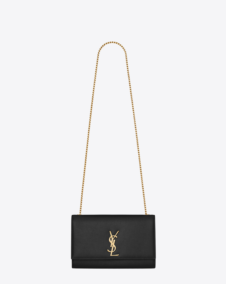 Saint Laurent CLASSIC MEDIUM MONOGRAM SAINT LAURENT SATCHEL IN ...