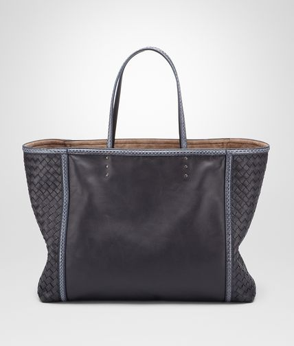 Tourmaline Prusse Nappa Ayers Tote Bag