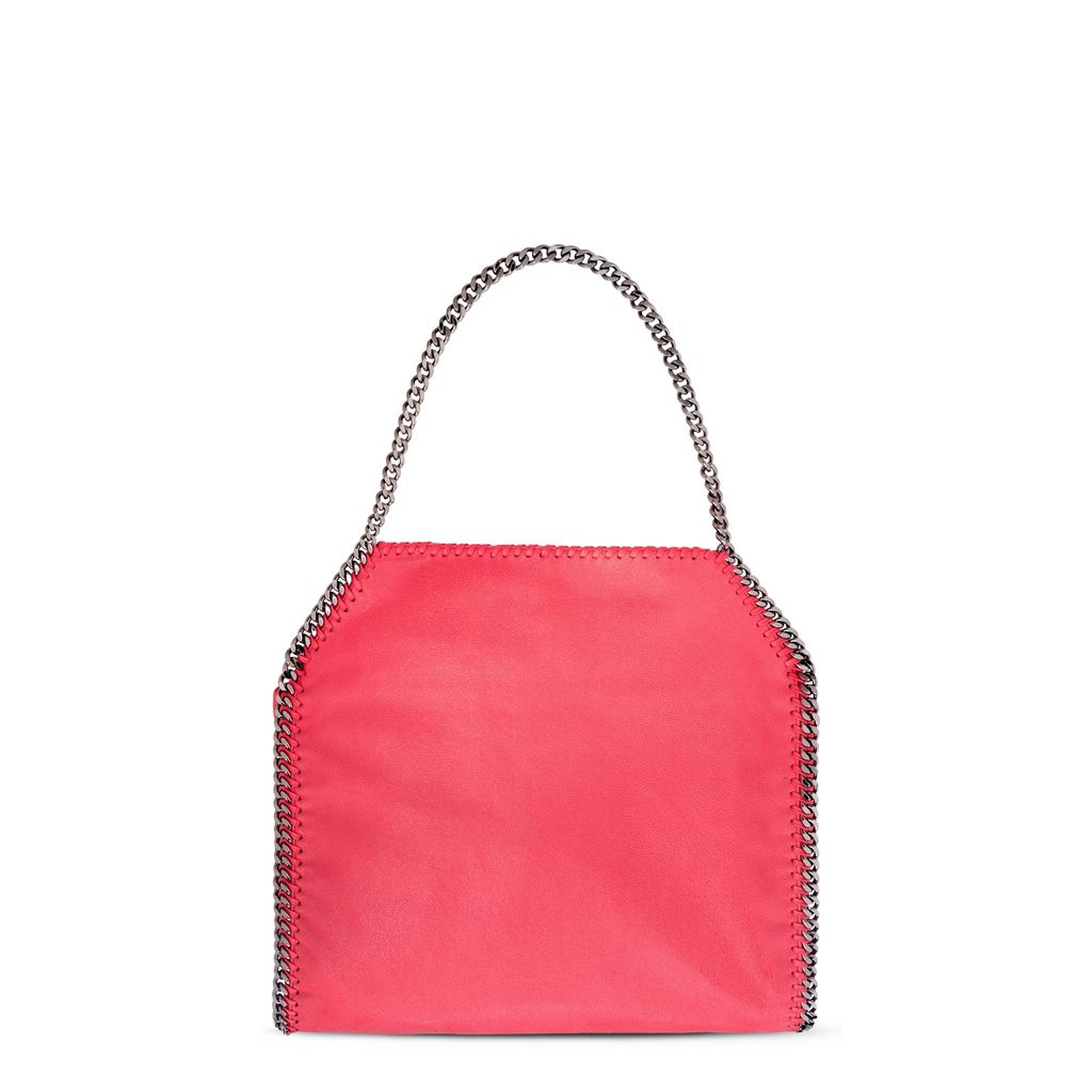 Pink Fluo Falabella Shaggy Deer Small Tote
