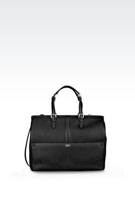 Armani Shoppers Women tote bag in printed calfskin