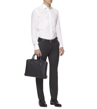 ERMENEGILDO ZEGNA: Office And Laptop Bag Black - 45255631TW
