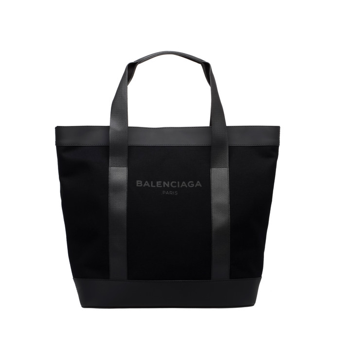 Balenciaga Navy Shopper