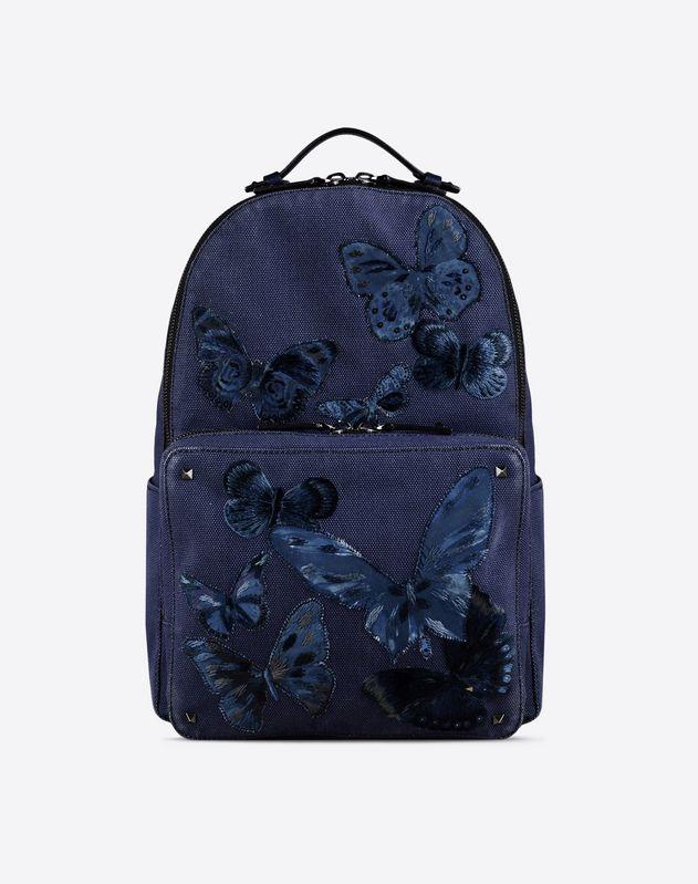 camubutterfly 刺绣双肩背包