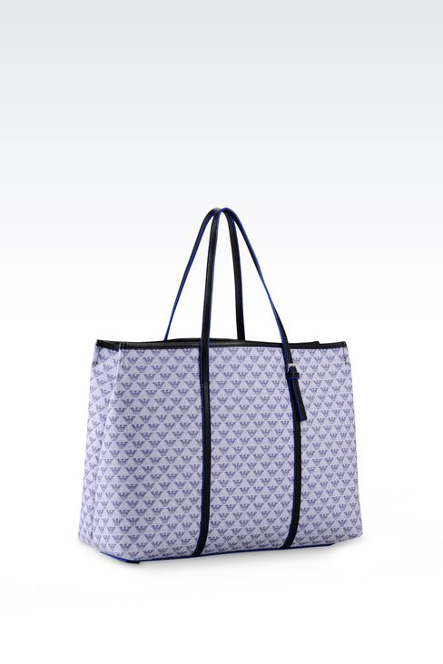 Shopping Bag in Logo Patterned