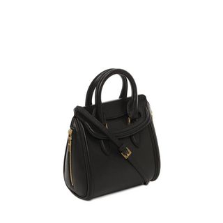 ALEXANDER MCQUEEN, Shoulder Bag, Woven Grain Mini Heroine