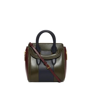 ALEXANDER MCQUEEN, Shoulder Bag, Classic Soft Calf Leather Mini Heroine