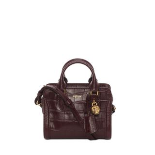 ALEXANDER MCQUEEN, Shoulder Bag, Cocco Soft Calf Leather Mini Padlock