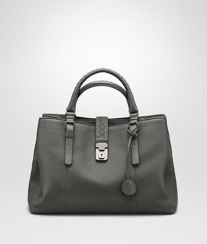 NEW LIGHT GREY CERVO ROMA BAG