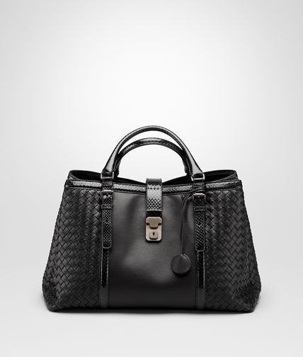 NERO NAPPA AND AYERS ROMA BAG