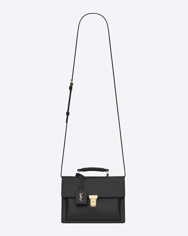 Saint Laurent Medium HIGH SCHOOL SAINT LAURENT Satchel In Black ...