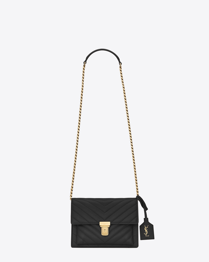 Saint Laurent Small HIGH SCHOOL SAINT LAURENT Satchel In Black ...