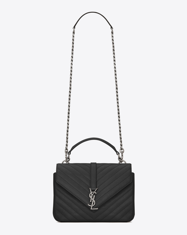 Saint Laurent CLASSIC Medium COLL��GE MONOGRAM SAINT LAURENT BAG IN ...