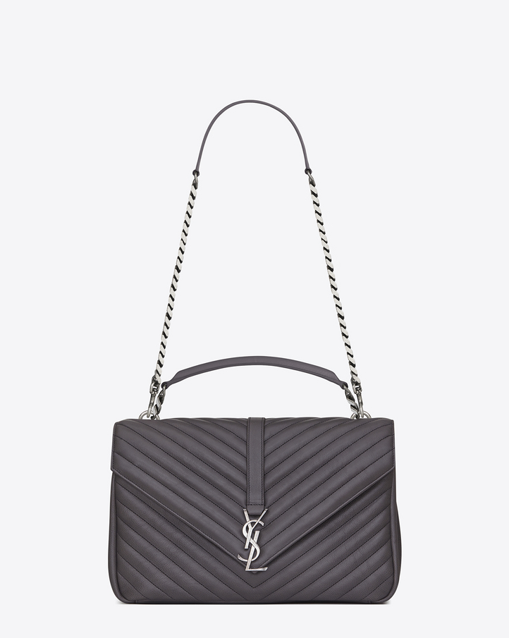 Saint Laurent CLASSIC Large Coll��ge MONOGRAM SAINT LAURENT BAG IN ...