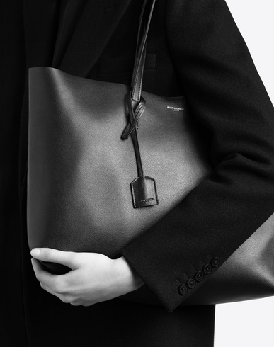 laurent bags - yves saint laurent pre ss16: saint laurent leather shopper bag ...