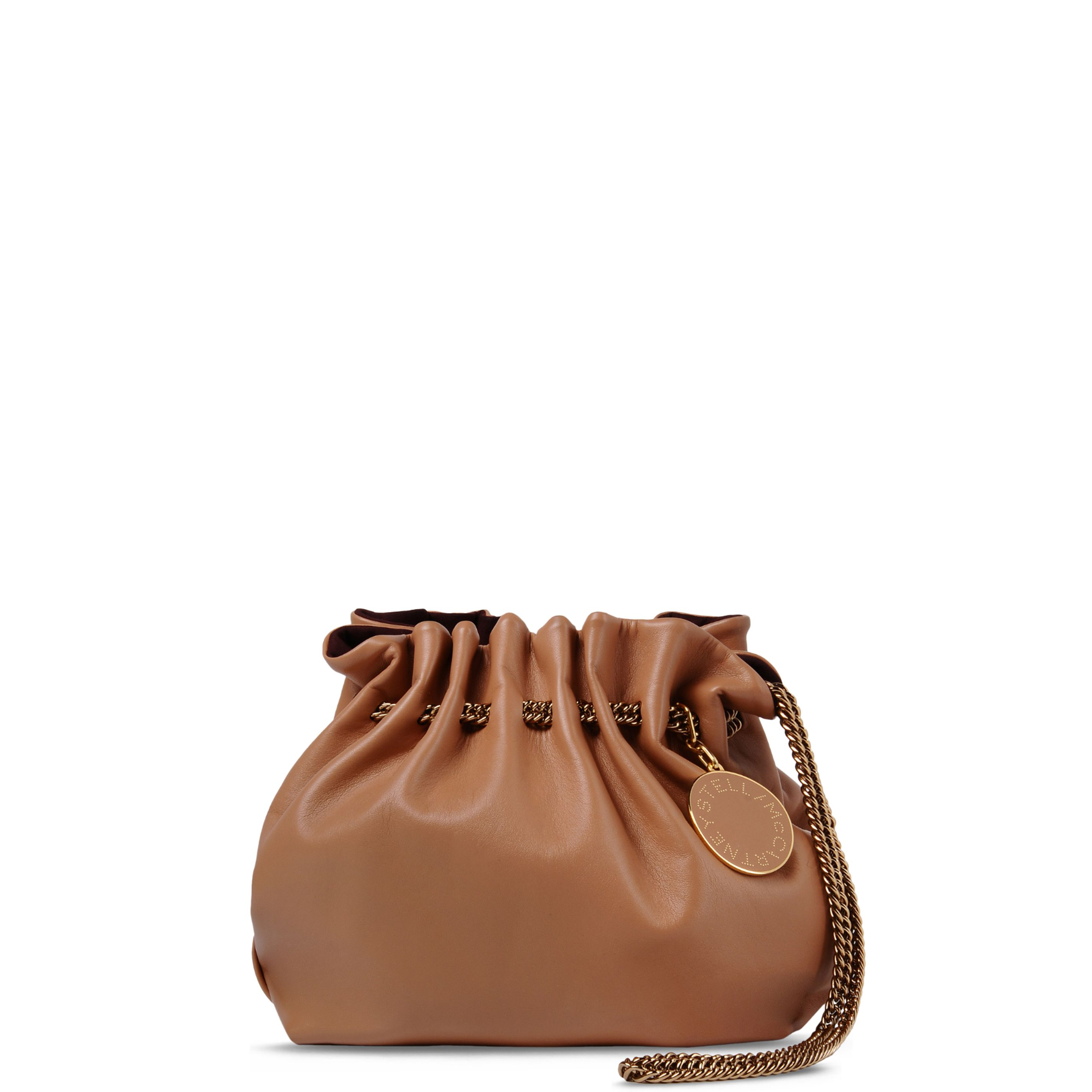 Stella McCartney - Black Falabella Shaggy Deer Backpack - Shop at