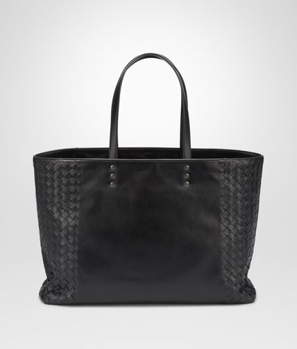 MEDIUM TOTE BAG IN NERO