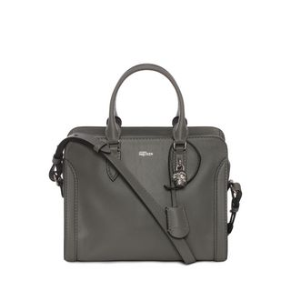 ALEXANDER MCQUEEN, Shoulder Bag, Grain Calf Leather Small Padlock