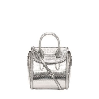 ALEXANDER MCQUEEN, Shoulder Bag, Antique Mirror Mini Heroine
