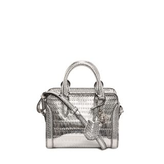 ALEXANDER MCQUEEN, Shoulder Bag, Antique Mirror Mini Padlock