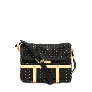 ALEXANDER MCQUEEN, Shoulder Bag, Studded Caged Hobo Bag
