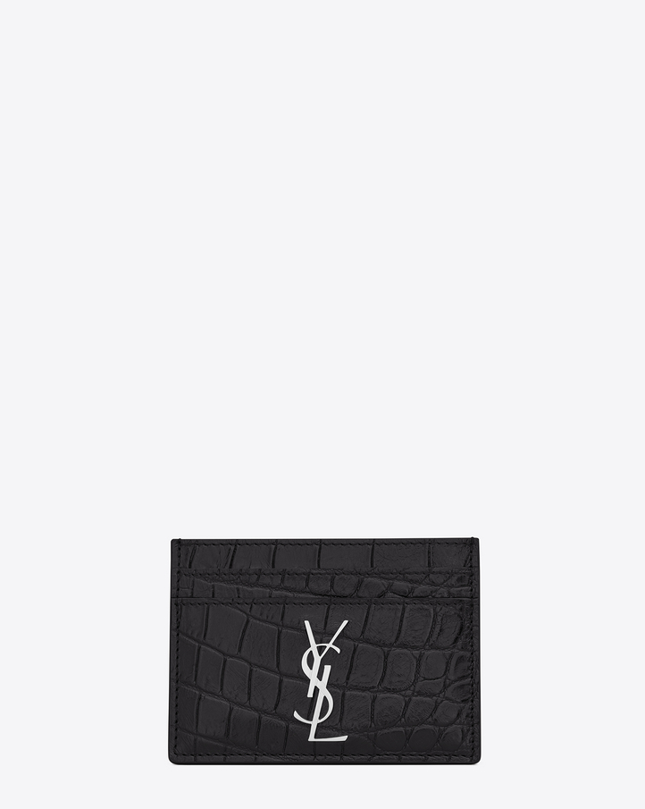 Women\u0026#39;s Card Cases | Saint Laurent | YSL.com