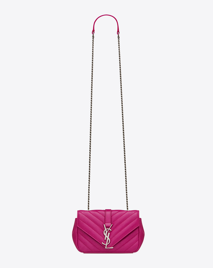 Saint Laurent Classic Baby MONOGRAM SAINT LAURENT Chain Bag In ...