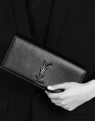 cheap ysl - classic small monogram saint laurent satchel in royal blue grain ...
