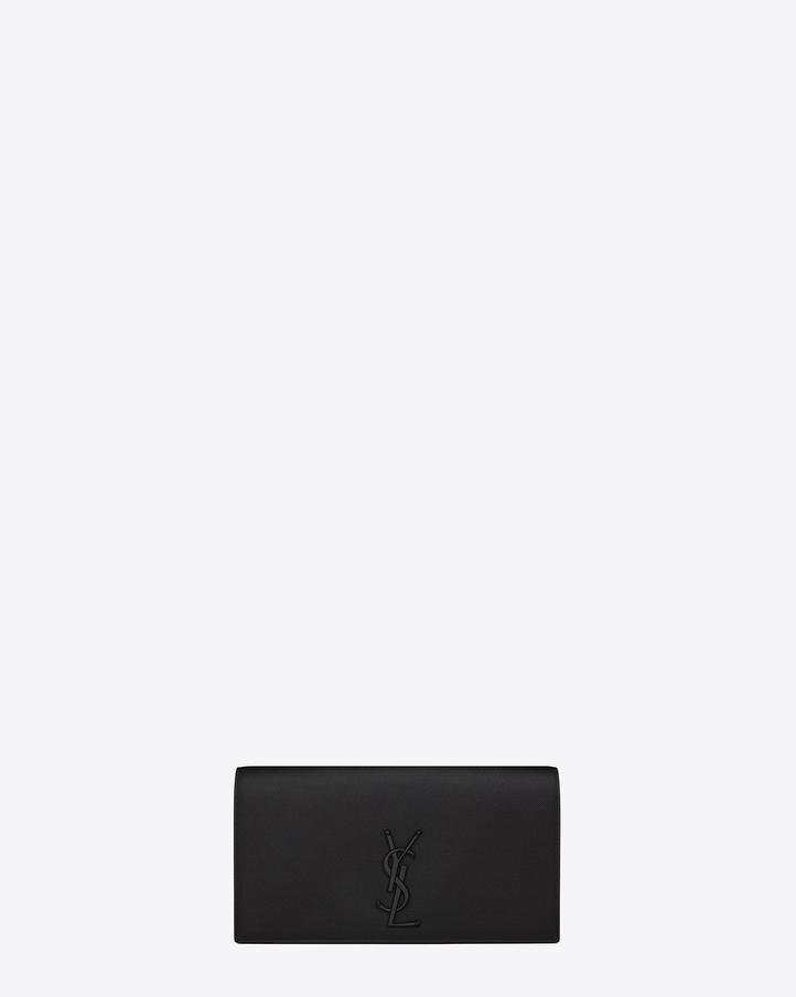 ysl monogram clutch