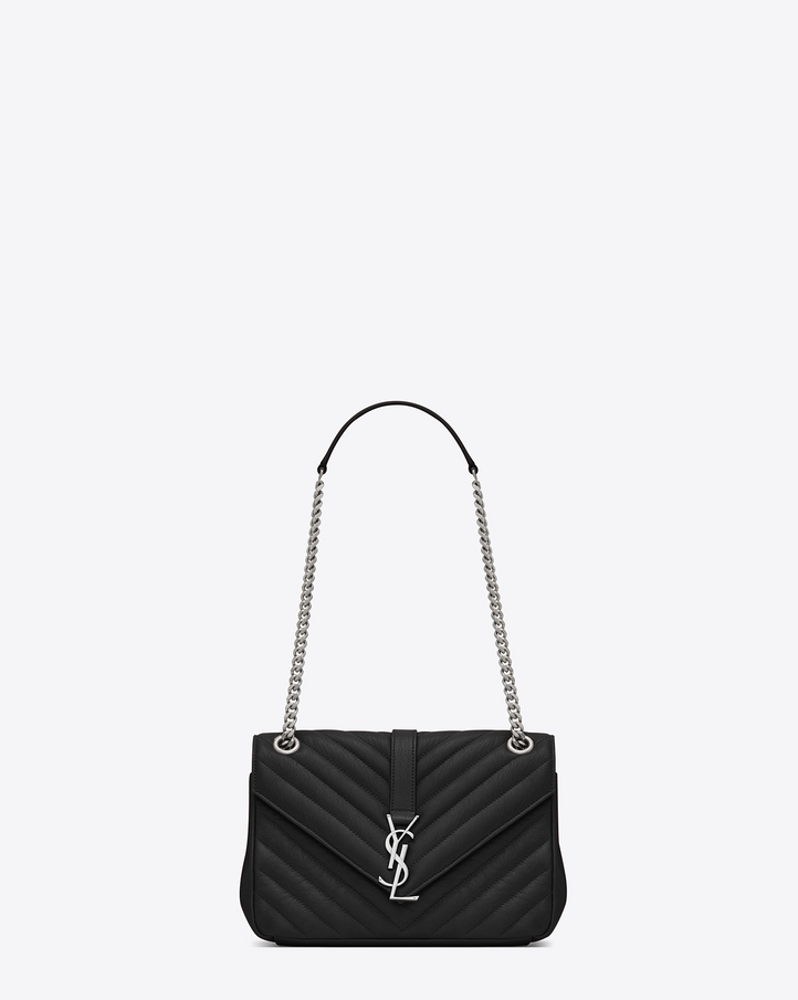 Saint Laurent Classic Medium MONOGRAM SAINT LAURENT Chain Bag In ...