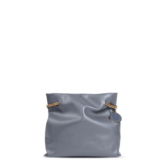 STELLA McCARTNEY, Shoulder Bag, Dark Grey Noma Hobo bag