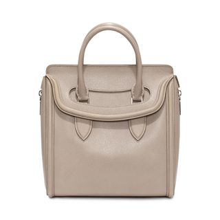 ALEXANDER MCQUEEN, Tote, Woven Grain Leather Heroine