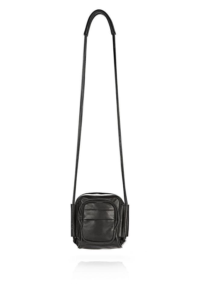 ALEXANDER WANG Shoulder bags Women BRENDA CAMERA IN BLACK WITH MATTE BLACK